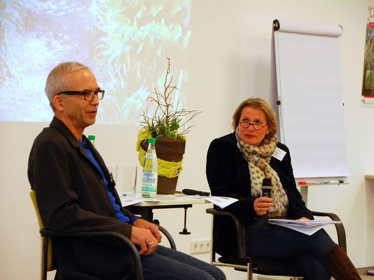 Arno Panitz und Sabine Reese-Fortmeier