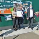 Ausbildungspreis der Landschaftsgärtner NRW: NRW-Arbeitsminister überreicht Urkunde in Everswinkel