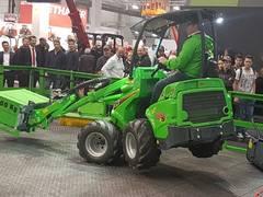 AVANT begeistert das Publikum auf der Agritechnica 2017 in Hannover