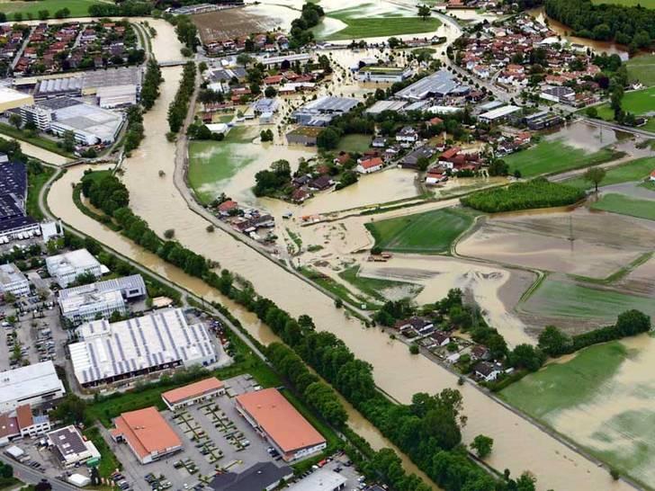 Julihochwasser 2013