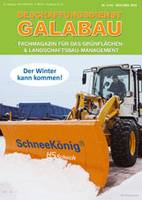Fachzeitschrift Beschaffungsdienst GaLaBau