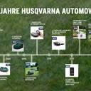 Ein Original feiert Jubiläum – Rückblick auf 25 Jahre Husqvarna Automower Innovation