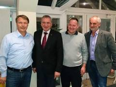 VGL Bayern: Stabwechsel in der Regionalgruppe Unterfranken