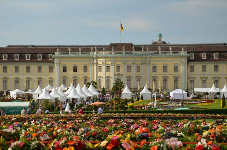 Barockschlosses Ludwigsburg