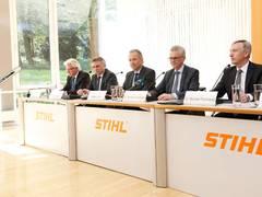 STIHL meldet dreifachen Rekord für das Geschäftsjahr 2017