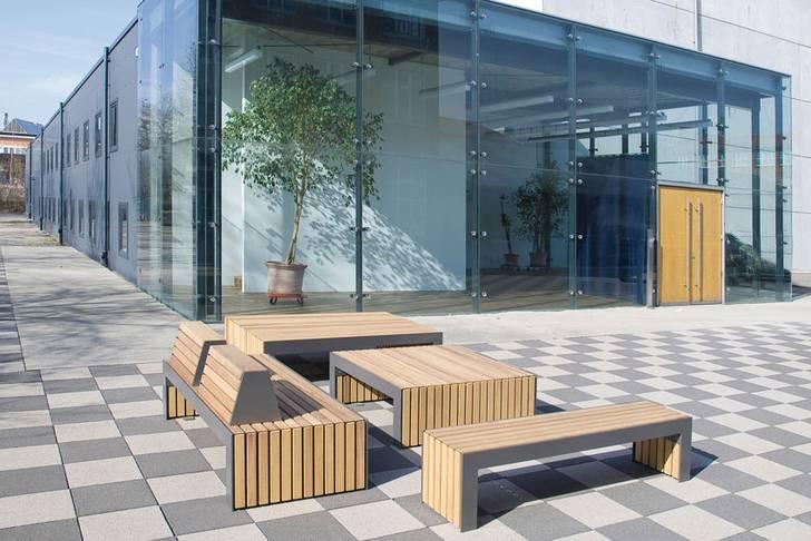 Nusser-plaza-sitzbänke