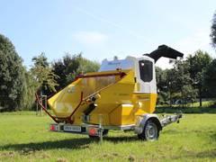TS Industrie präsentiert das Nachfolgemodell des bewährten Rotorhäcksler GS/JAGUAR D