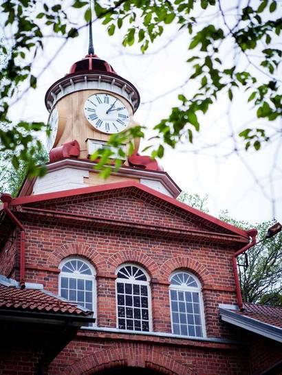 Fiskars Village Uhrturm