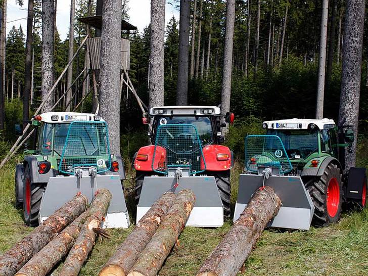 Getriebeseilwinden für alle im Forst