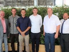 Junger Nachwuchs im Garten- und Landschaftsbau in Mittelfranken freigesprochen