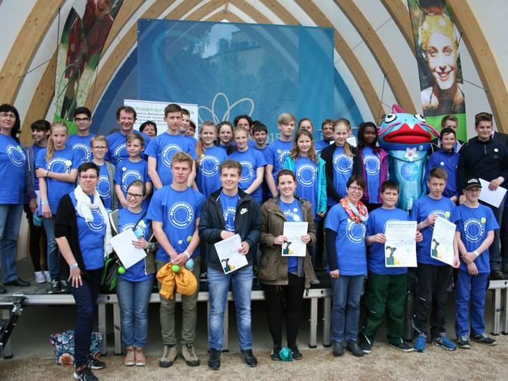 Teilnehmer des Schülerwettbewerbs
