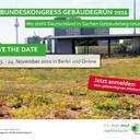 Bundeskongress Gebäudegrün am 23. und 24. November 2021