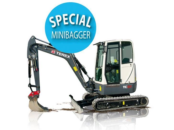 Modellübersicht Minibagger