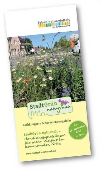 """Fachkongress """"StadtGrün naturnah"""" mit Auszeichnungsfeier"""