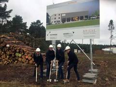 Erster Spatenstich für neue RUTHMANN Servicestation Borkheide