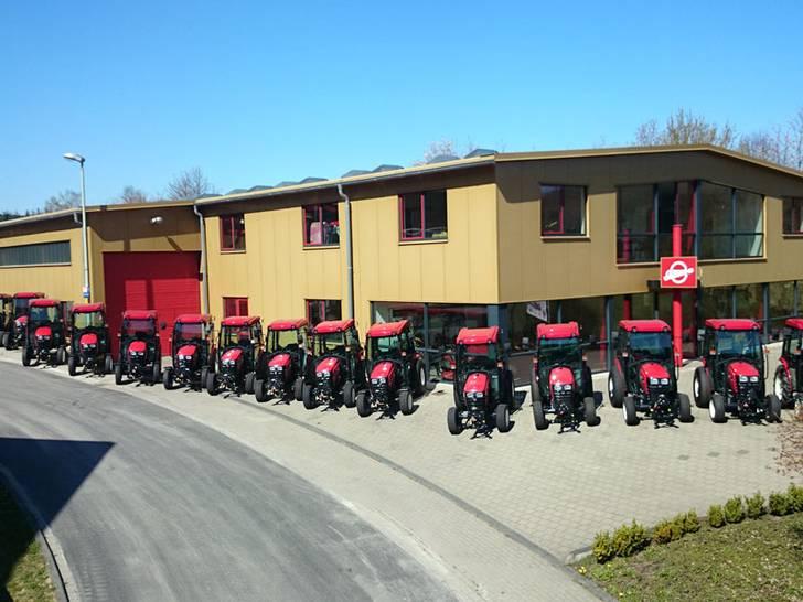 Traktoren für die Stadt Pforzheim
