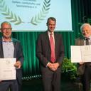 Goldene Ehrennadel für Thomas Schmale, Jens Heger und Rafael Carentz
