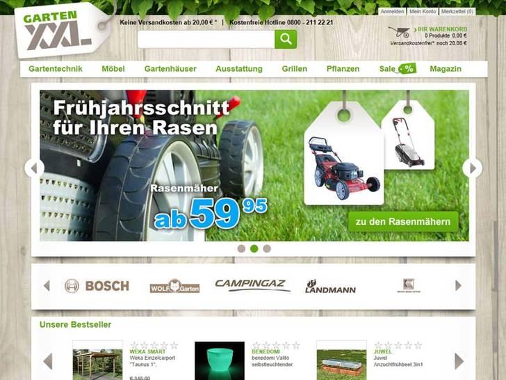 Screenshot Garten-XXL