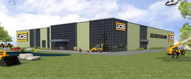 JCB-Baumaschinen