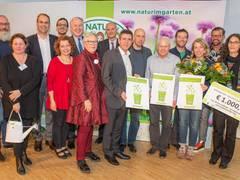 European Awards for ecological gardening gehen nach Tulln, London und Kaiseraugst