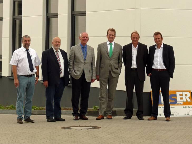 Neue Laufwerksproduktion von Linser in Troisdorf