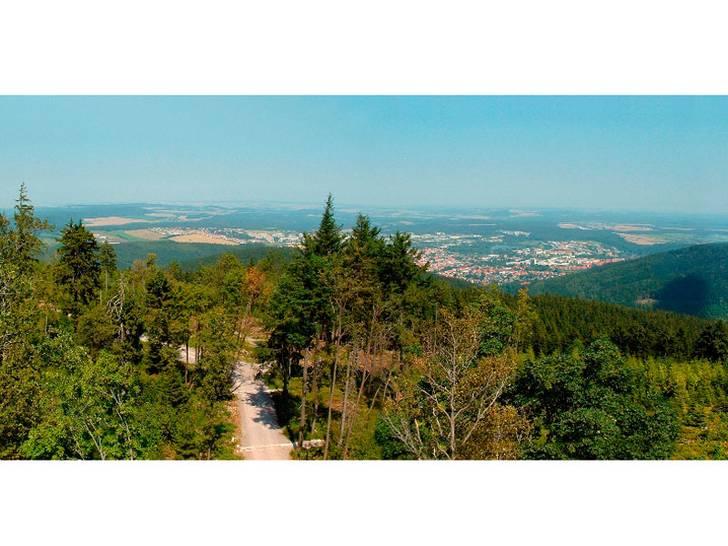 Nordhang des Thüringer Waldes