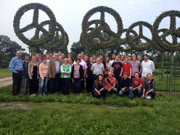 Lieblings Ausbildungsfahrt der Firma Gaissmaier Landschaftsbau zur #FB_55