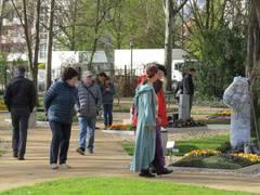Friedhofsgärtner präsentieren sich auf der IGA in Berlin