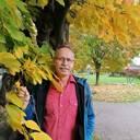 Der Botanische Garten und die Blätter im Herbst
