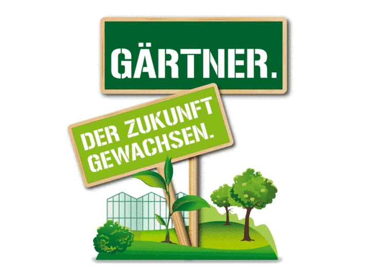 Gärtner. Der Zukunft gewachsen.