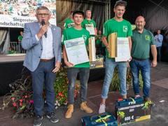 Robin Göppner und Simon Riese gewinnen Landschaftsgärtner-Cup 2021 auf der BUGA Erfurt
