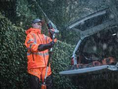 Garantiert trocken: Neue Husqvarna Wetterschutzbekleidung