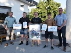 Fachkräfte Agrarservice messen sich in der DEULA Nienburg