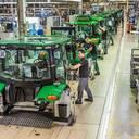 Traktorenproduktion