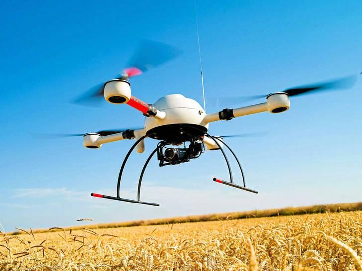 Kameradrohne Landwirtschaft