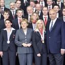 Angela Merkel bei Berufsweltmeisterschaft