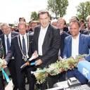 Ministerpräsident Söder und Umweltminister Glauber eröffnen Regionalgartenschau in Wassertrüdingen