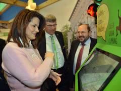Kaniber wirbt in Berlin für mehr Grün in den Städten