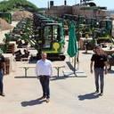 Galabauer Odenwäller richtet seinen Maschinenpark mit Flotte von 31 Cat Minibaggern neu aus