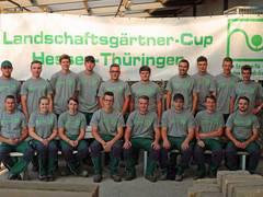 Berufsnachwuchs wetteifert auf dem 10. Landschaftsgärtner-Cup Hessen-Thüringen 2018