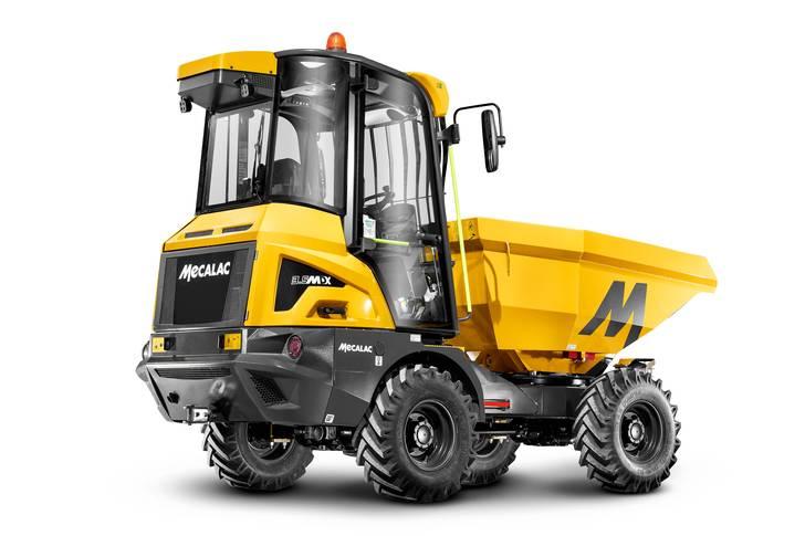 Mecalac bringt mit dem 3.5MDX einen innovativen Baustellenkipper mit Kabine auf den Markt