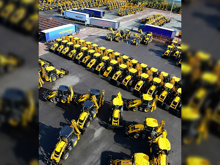 Bau- und Landmaschinen
