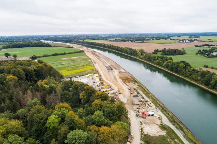 Bauen an der Lebensader Schleswig-Holsteins