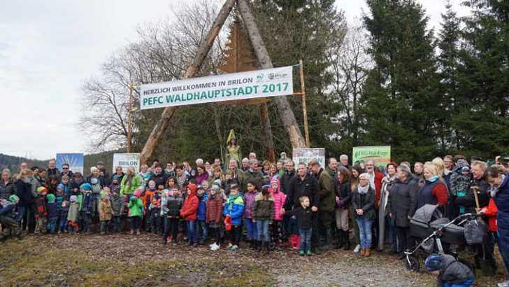 PEFC-Waldhauptstadt