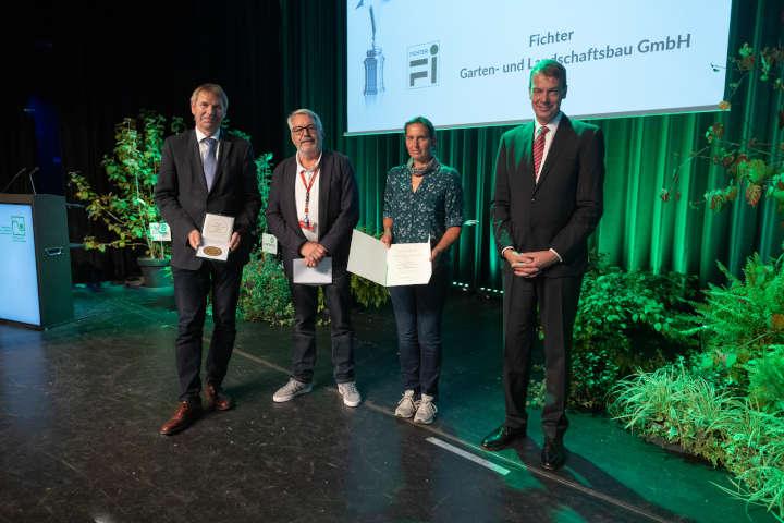 BUGA Erfurt 2021: Preise für den landschaftsgärtnerischen Wettbewerb im Freiland verliehen