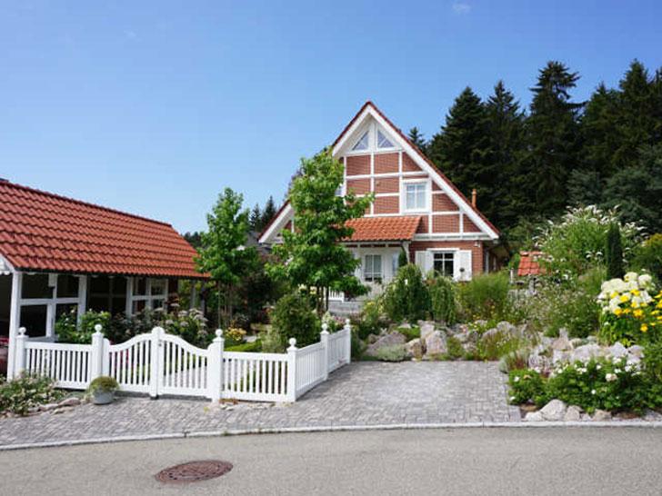 Vorgarten in Althütte