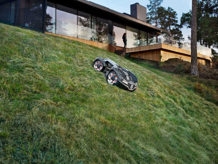 Husqvarna presents new four-wheel robotic lawnmowers with