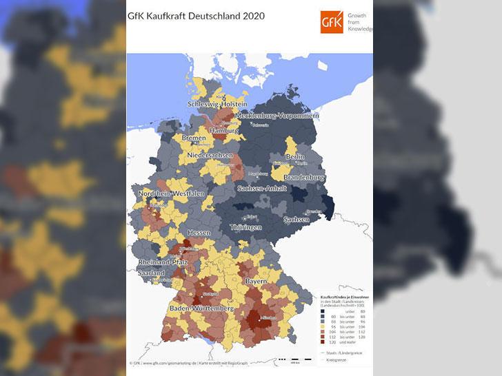 Kaufkraft der Deutschen