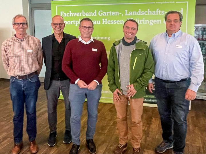 Südhessische Landschaftsgärtner wählen Alexander Tilburgs aus Schmitten zum Regionalpräsidenten