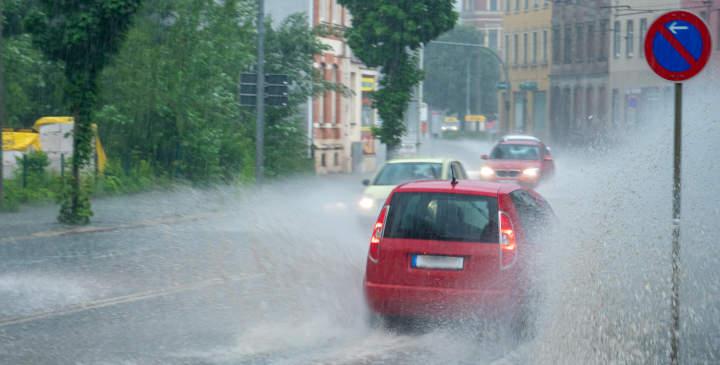 Wassermangel und Starkregen